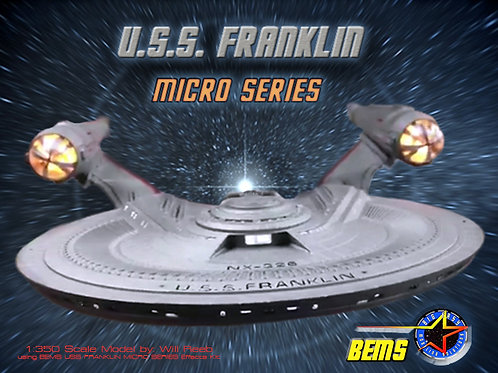Micro Series: SFX FRANKLIN 1:350 (COMPLETE SYSTEM)