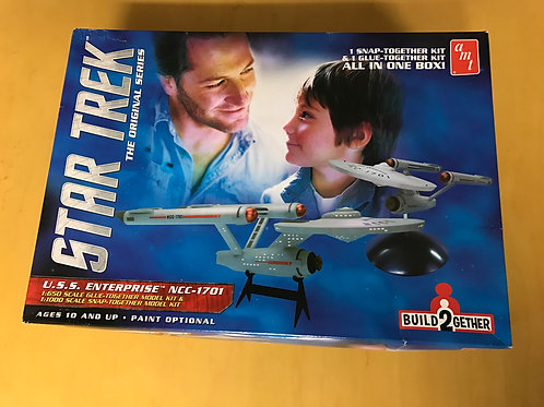 """1:650/1:1000 TOS """"Build2Gether"""" Enterprise double model kit from AMT"""