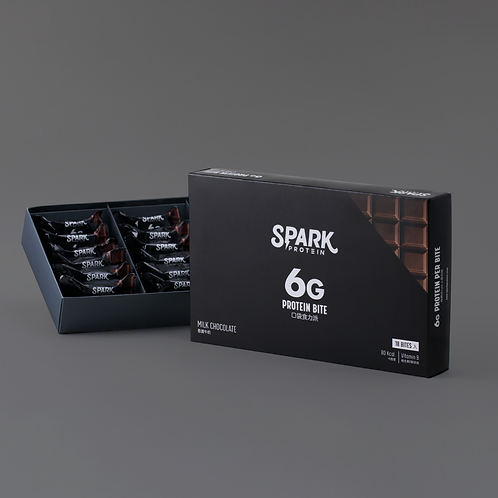 Spark Bite - 香濃牛奶 (18粒裝)