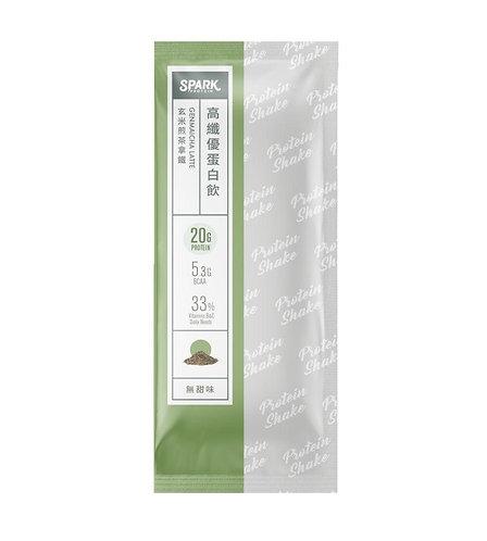 Spark Shake - 玄米煎茶拿鐵 (無甜味)
