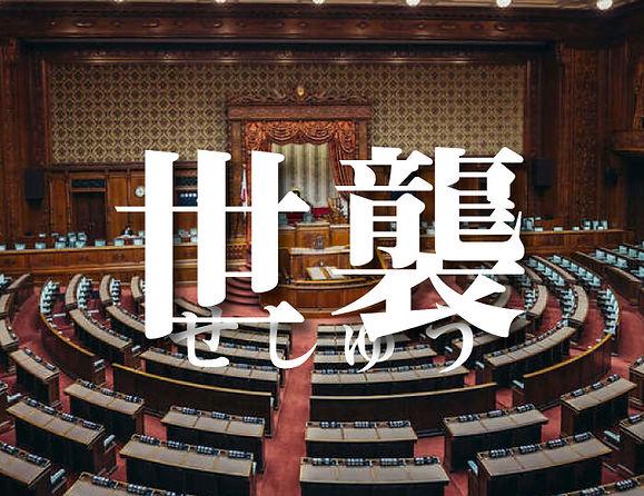 憲法「世襲」を巡る政府見解