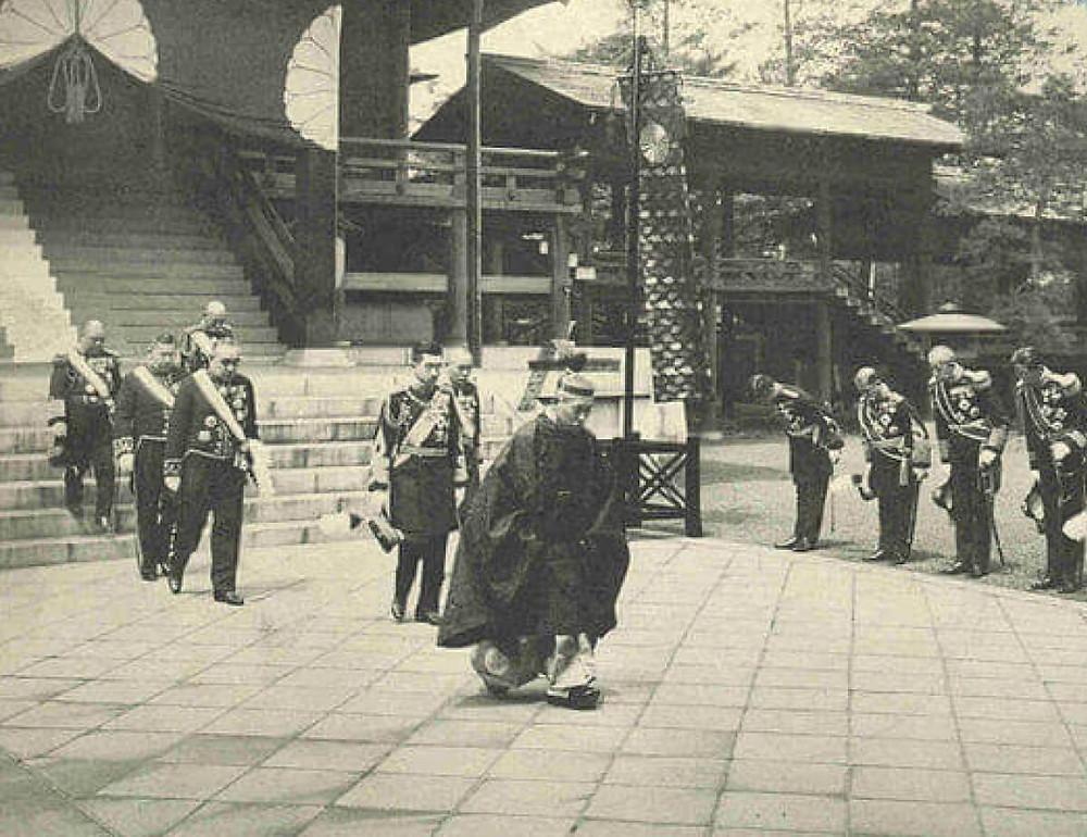 昭和天皇の靖国神社ご親拝