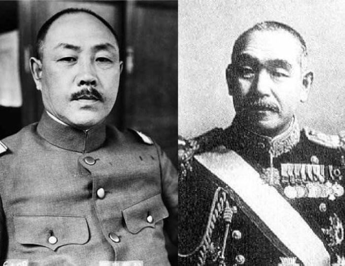 阿南惟幾陸軍大臣と鈴木貫太郎総理大臣