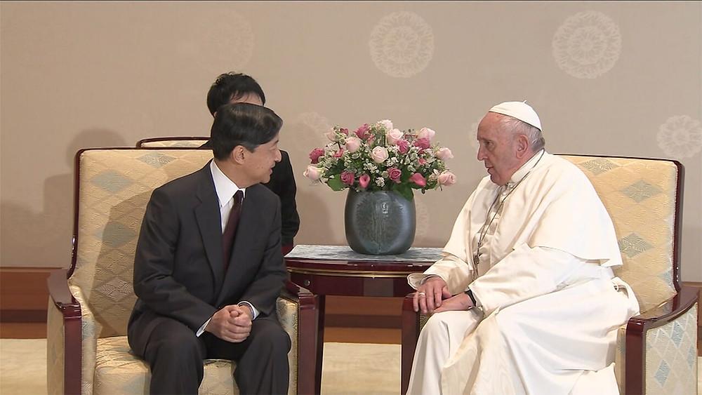 天皇陛下とローマ教皇