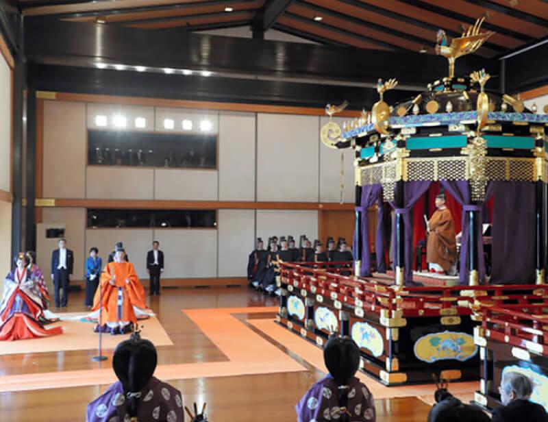 即位儀式と皇族減少
