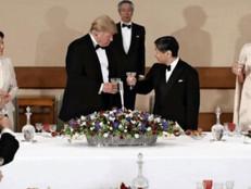 歓迎式典、宮中晩餐会