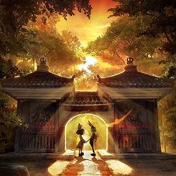 チックタック-光る絵本と光る満願寺展