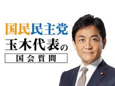 国民民主党・玉木代表の国会質問