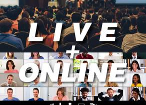 ライブ+オンライン