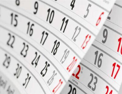 カレンダーのイメージ画像