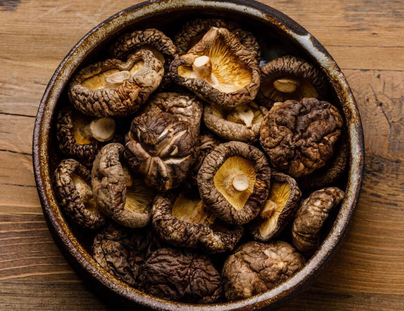 大嘗祭「庭積机代物」の乾椎茸