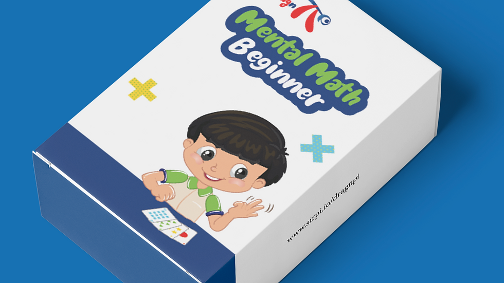 Dragnpi Mental Math Beginner Card Pack