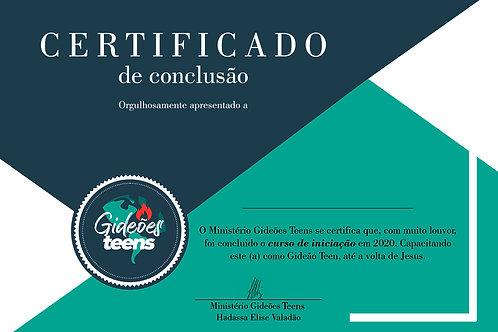 Certificado de Formatura - GT