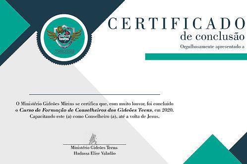 Certificado Curso CFC - GT