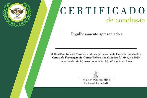 Certificado Curso CFC - GM