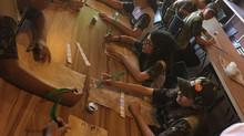 Gideões Mirins de Londrina aprendem Bibliologia com aula prática