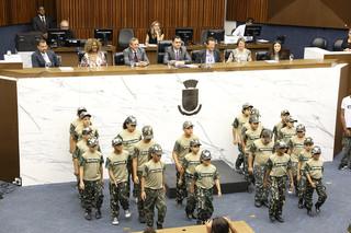 Homenagem ao Ministério na Câmara Municipal de Belo Horizonte