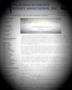 Palm Beach County Kidney Association INC.