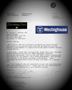 Westinghouse. Southeast Electric Gala