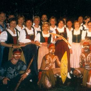 Australien mit dem Bachl-Chor