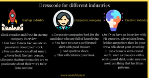 The infograph for the dresscode information
