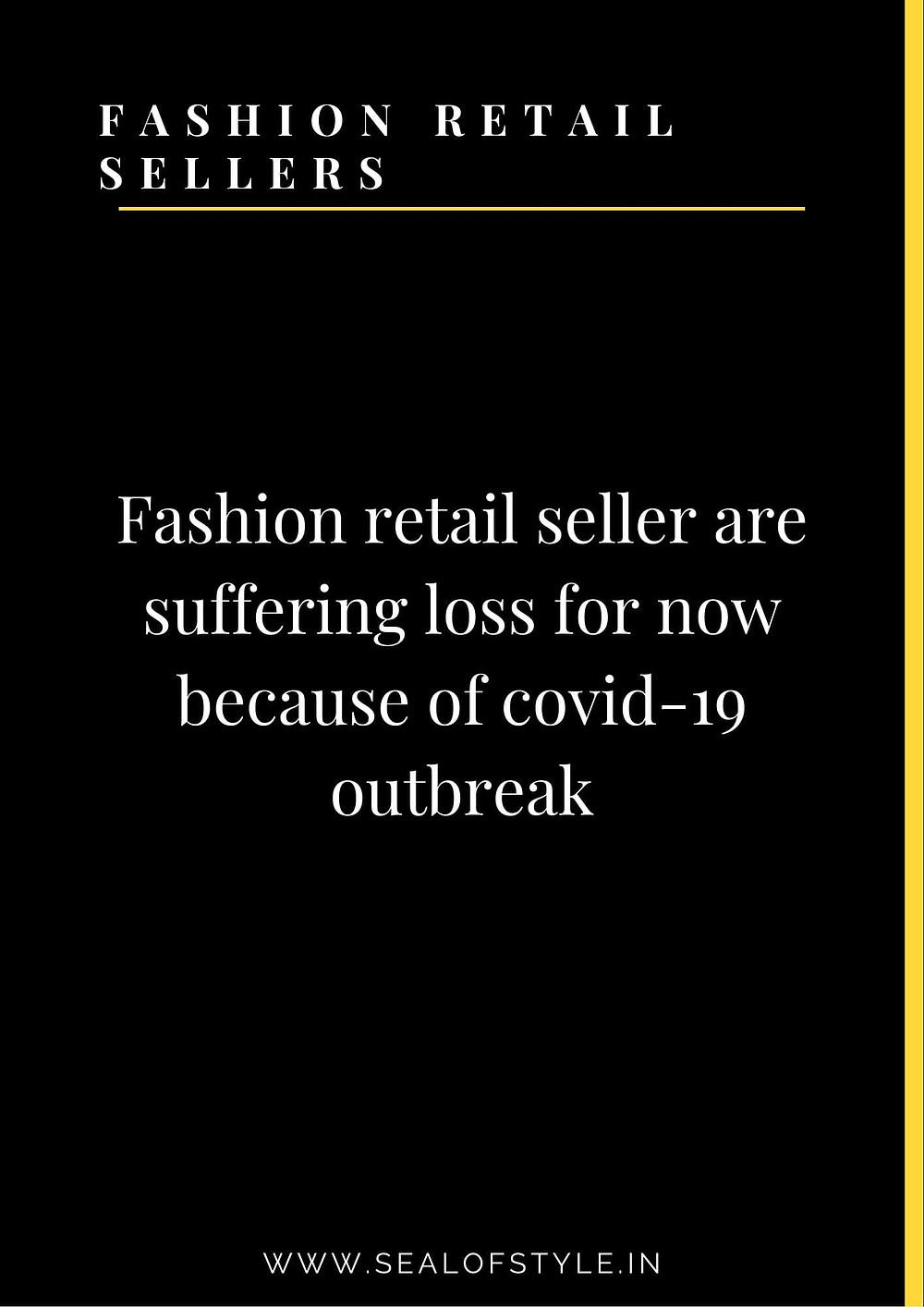 Information about fashion retail business demand in future