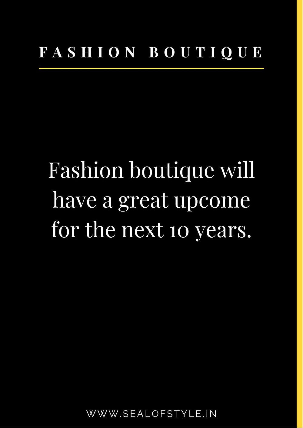 information about demand of dashion boutique in future