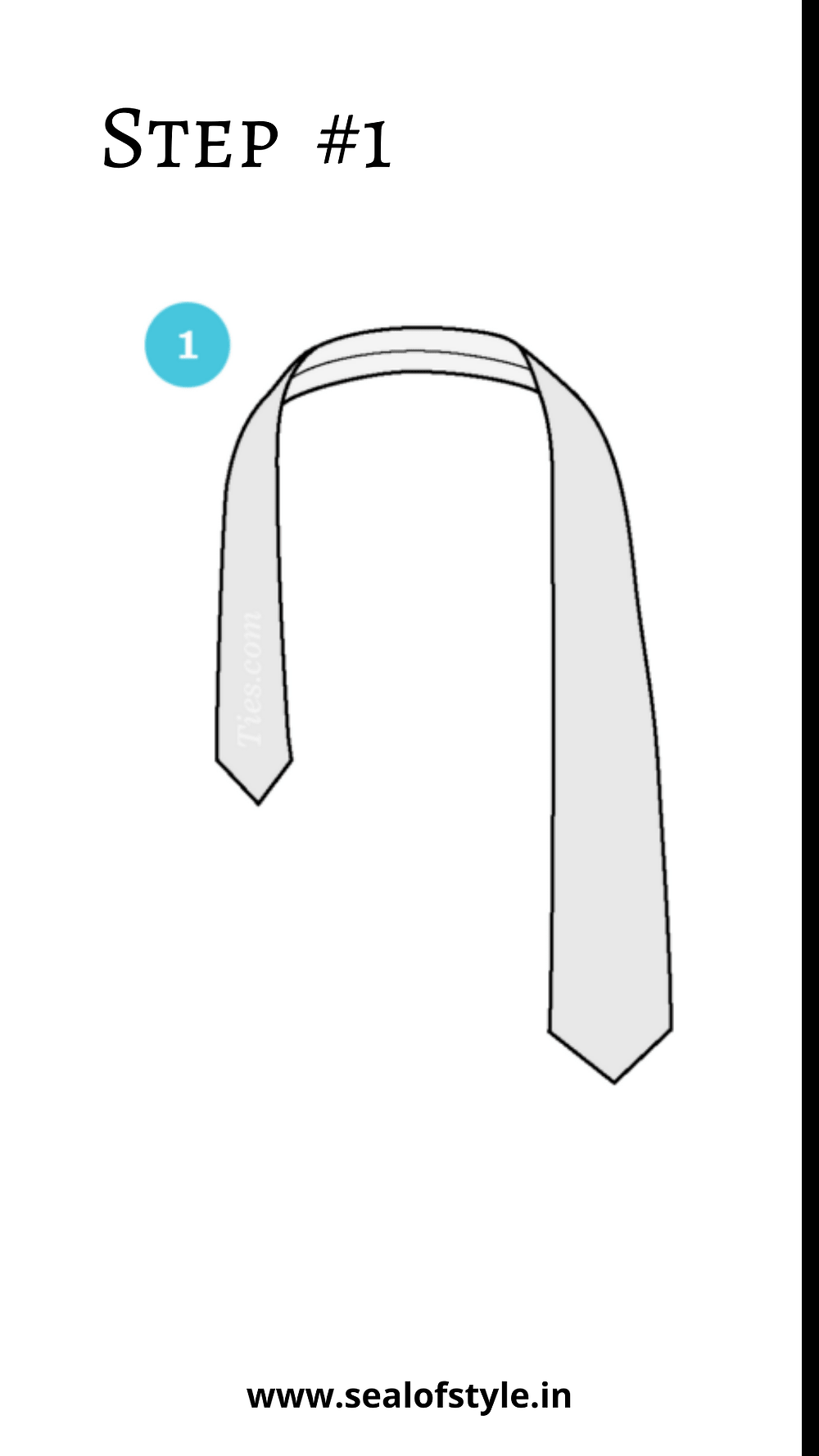 Simplest way to wear tie