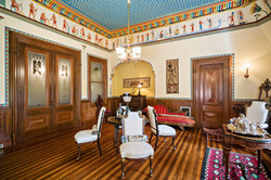 Egyptian Revival Music Room
