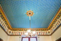 Ceiling, Egyptian Revival Music Room