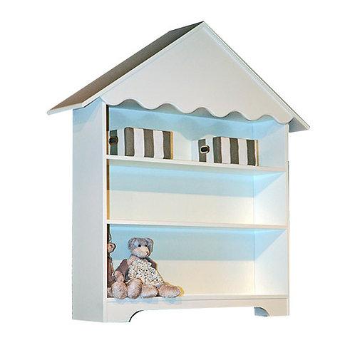 estantería de casita