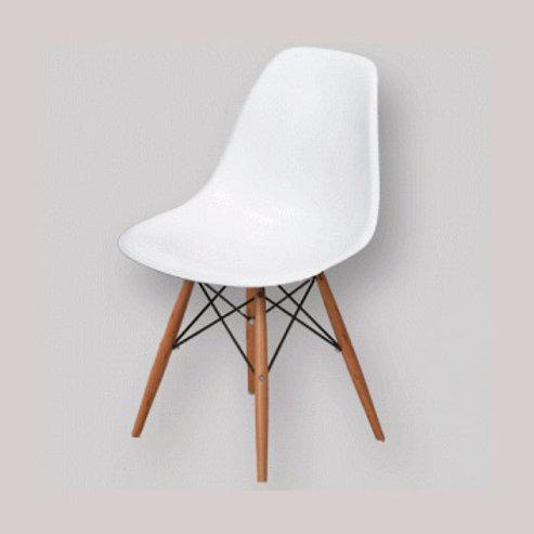 silla pvc - madera