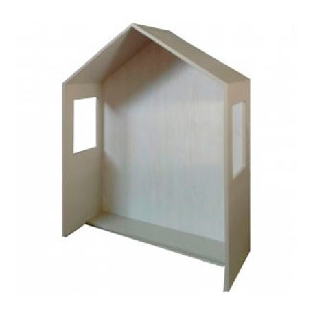 cabecero casita con ventanas