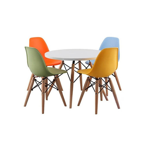 silla pvc/ madera pequeña