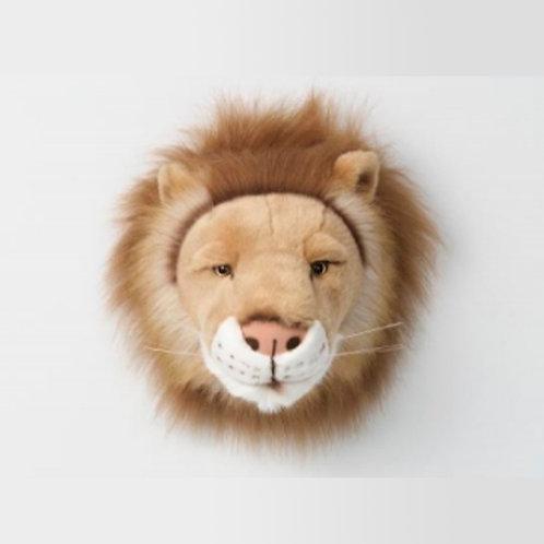 cabeza de peluche de león