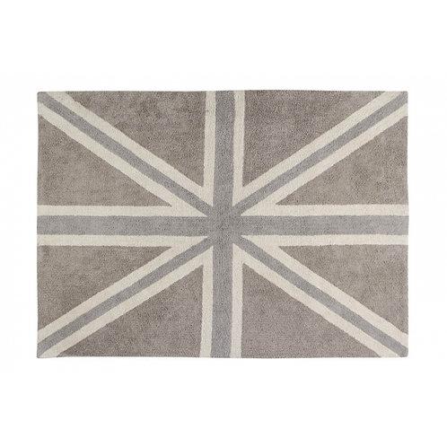 Alfombra bandera lino/gris