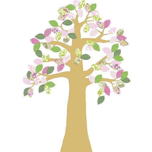 árbol pequeño troquelado