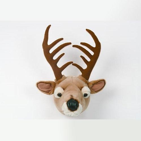 Cabeza de peluche de bambi