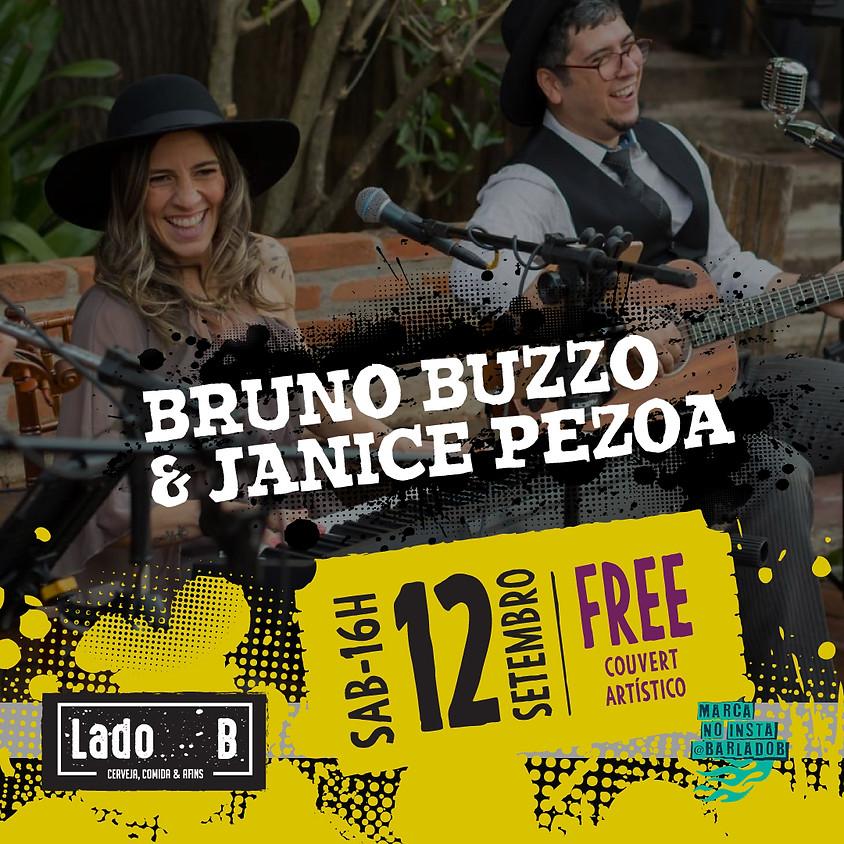 SHOW BRUNO BUZZO & JANICE PEZOA - COUVERT FREE