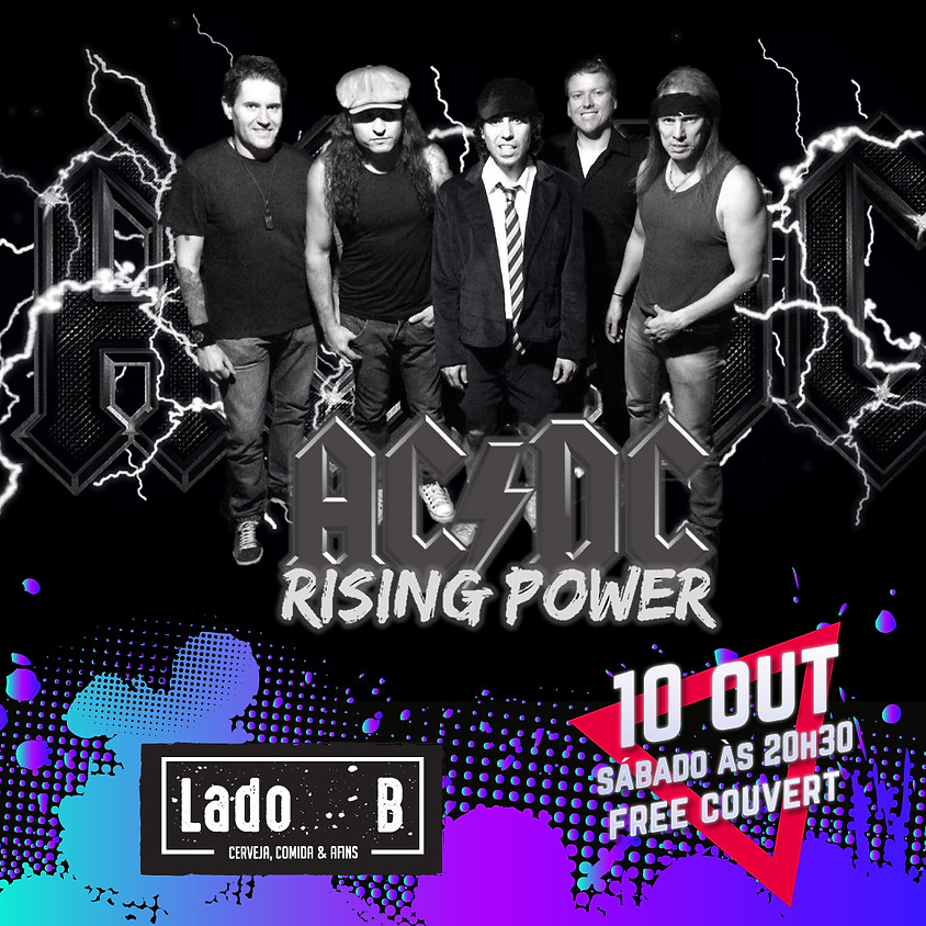 SHOW RISING POWER - AC/DC COVER