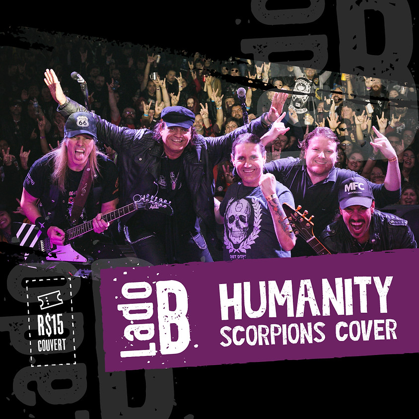 HUMANITY SCORPIONS COVER