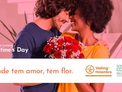 """""""Onde tem amor, tem flor"""""""