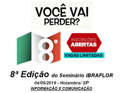 Seminário Ibraflor - 04/09/2019