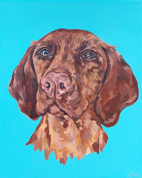 Acrylic on Canvas 25 x