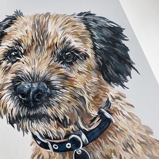 A4 Acrylic on Canvas Board