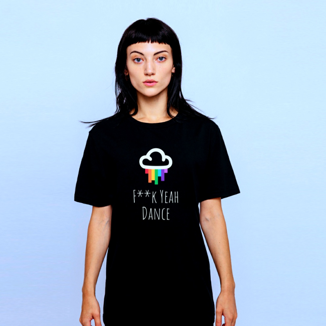 Black F**k Yeah Dance tshirt