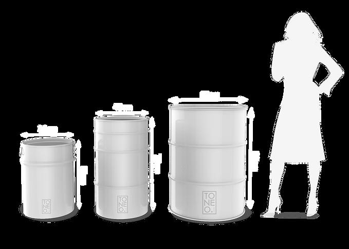 tambor tonel 100L 200L 50L personalizado barril