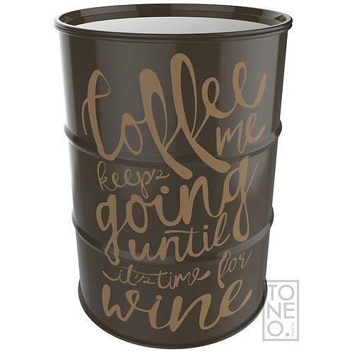 Coffee & Wine (marrom) - Tonel 200L