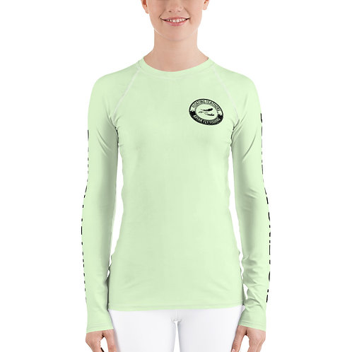 Women's Rash Guard Green Seafoam
