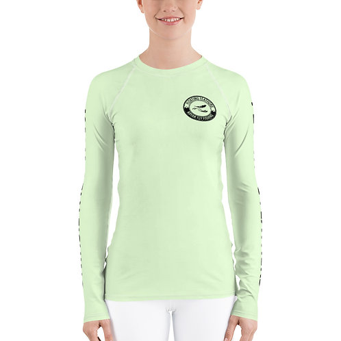 Women's Rash Guard Seafoam Green